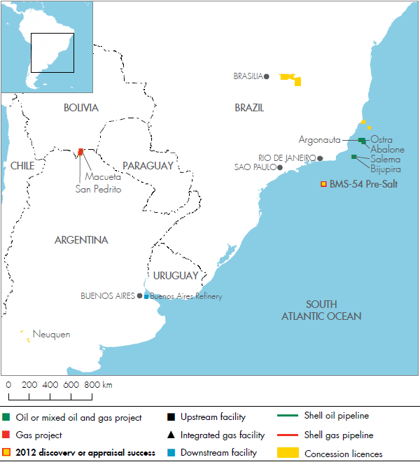 Royal Dutch Shell plc Investors' Handbook 2008-2012 - Brazil