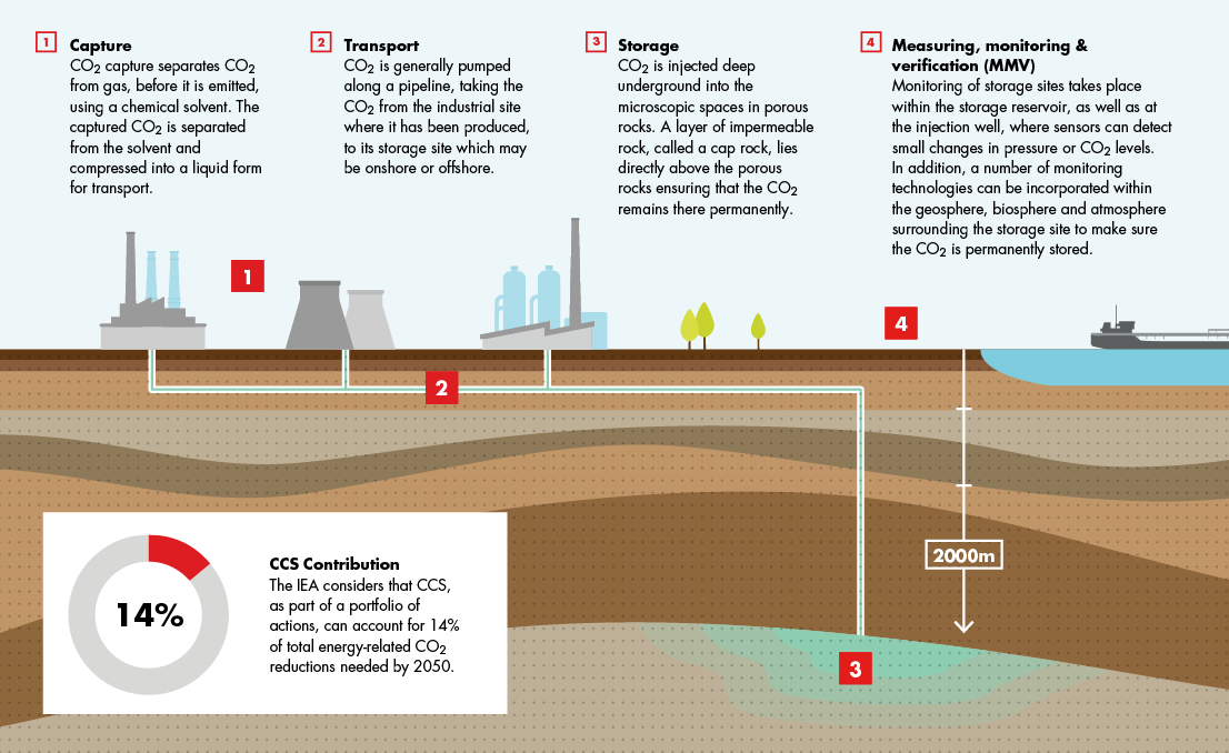 How Carbon Capture And Storage Works