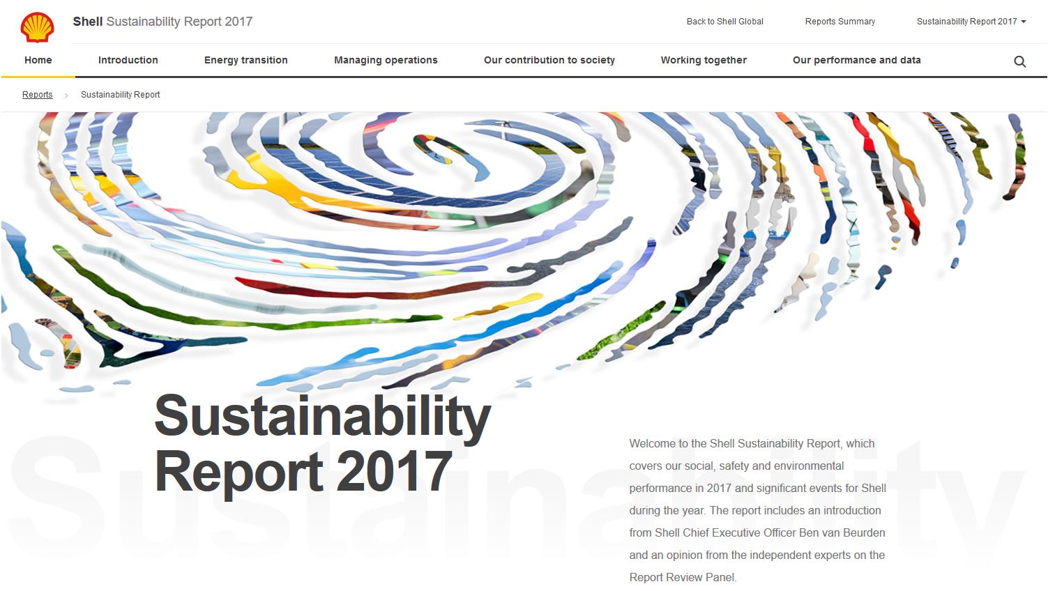sustainability reports 2016